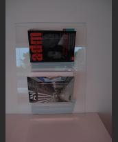 Porta riviste  verticale